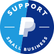Paypal Support Small Business Badge