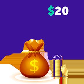 $20 PER A REFERRAL!